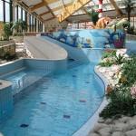 Aqua-wellness centra, oblíbený cíl zábavy pro rodinnou dovolenou