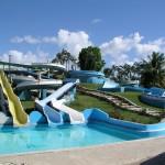 Aquapark plný barev – Dominikánská republika