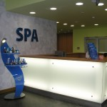 Recepce ve wellness a SPA