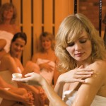 peeling v sauně, Saunahof