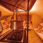 saunový ceremoniál, saunové centrum Saunahof