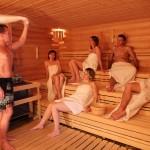 saunový ceremoniál, FOto: WELLNESS HORAL. Resort Valachy