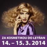 Jarní veletrh kosmetiky 14-15.3.2014