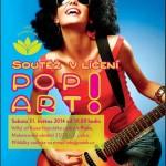 POP ART – Soutěž líčení Unie kosmetiček 2014