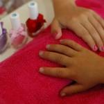 detksy salon-spa manikura pro deti