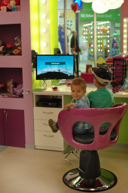 detksy salon-spa -kadernik pro deti