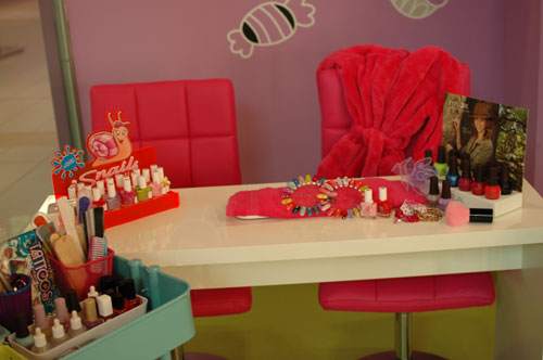 detksy salon-spa a manikura pro deti