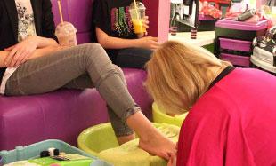detksy salon-spa pedikura pro deti