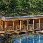 Saunování venku – saunové zahrady –  zážitkové saunování pod oblohou