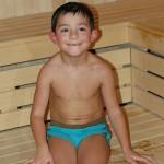 Saunování dětí – saunování pro rodiny – děti v sauně