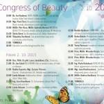 Program kosmetického kongresu – CONGRESS OF BEAUTY 2015 – Unie kosmetiček 1. a 2. října 2015 v Jalta Boutique Hotelu v Praze