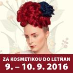 Veletrh kosmetiky v Praze, 9.-10.9.2016