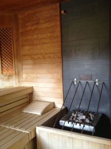 sauna interier wellness