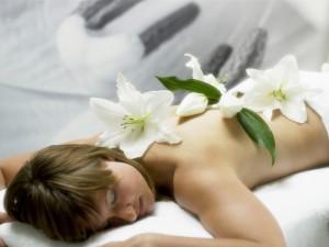 Květiny a naše smysly - příroda v interiéru - květinová výzdoba ve wellness