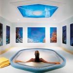 Nástěnné malby ve wellness a spa