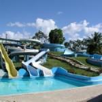 Aquapark plný barev - Dominikánská republika