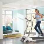 Domácí posilovna je běžnou součástí domácího wellness