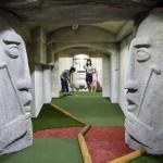 Nový adventure golf v babylonském Lunaparku
