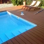 DOMÁCÍ WELLNESS - fotogalerie dřevoplast na terasu, kolem bazénu a vířivky