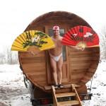 Mistrovství ČR v saunových ceremoniálech - pohár za saunové ceremoniály putuje do Nizozemska
