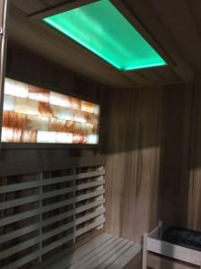sauna doma osvetleni do sauny a