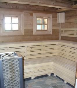 sauna-saunování
