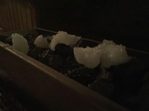 aroma sauna ceremonial ledove koule a
