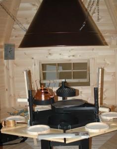 ceremonial sauna interier