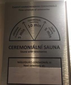 ceremonial sauna sauner