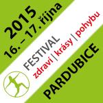 Festival zdraví, krásy, pohybu podruhé v Pardubicích – 16. a 17. října 2015