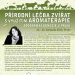 Přírodní léčba zvířat s využitím aromaterapie – aplikovaná zoofarmakognozie - Mezinárodní aromaterapeutická konference