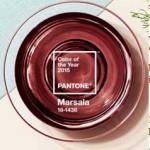 Wellness trendy pro rok 2015 - barva roku 2015 - Pantone - Marsala, červená v interiéru wellness