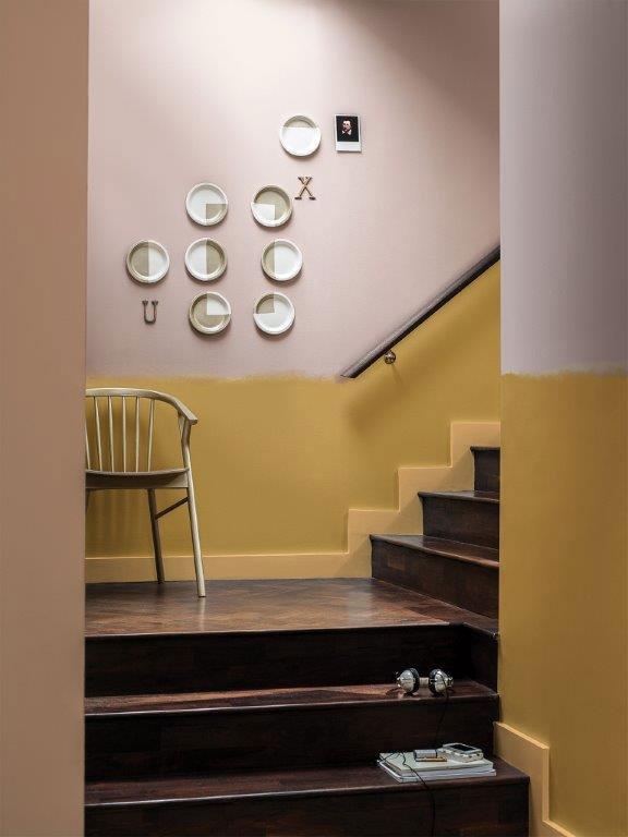 zlata v interieru wellness spa dulux barva  (4)
