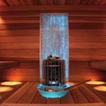 Osvětlení do sauny - pro dokonalou atmosféru při saunování - designové světlo v sauně