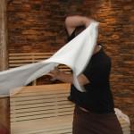 Saunové ceremoniály a zážitkové saunování - školení - profesionální saunér - květen 2017