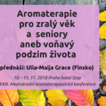Pozvánka na konferenci aromaterapie